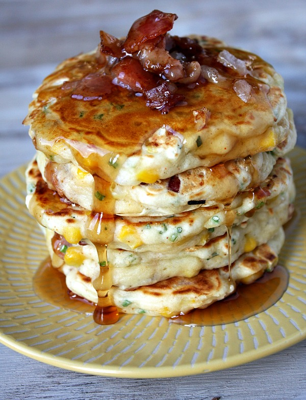 Corn And Cheese Griddle Cakes