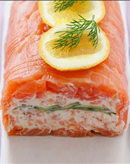 Smoked Salmon Rolls with Yoghurt Filling : I Love To Cook