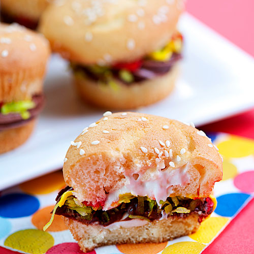 Burger Cupcakes : I Love To Cook